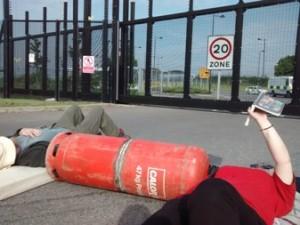 gas cannister lockon