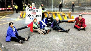 YES Scotland Faslane Blockaders Released