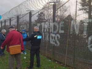 trident nukes fence
